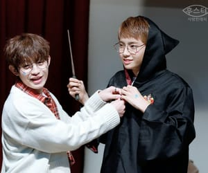 harry potter, kpop, and wei image