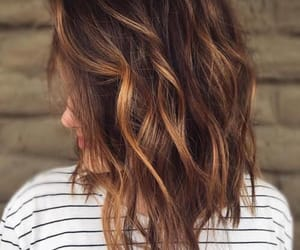 beauty, hair, and balayage image