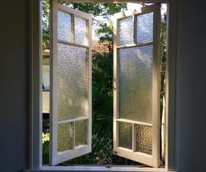window, indie, and nature image