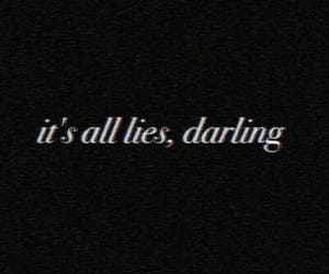 lies, darling, and quotes image