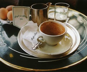 coffee, vintage, and food image