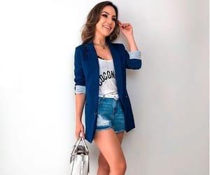 blazer, jeans, and moda image