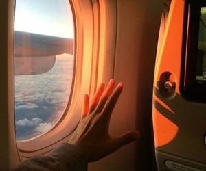 aesthetic, travel, and sky image