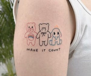 soft, tattoo, and cute image