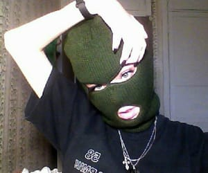 goth, aesthetic, and mask image