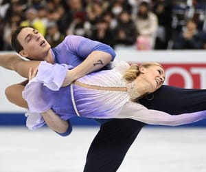 figure skating, ice skating, and bruno massot image