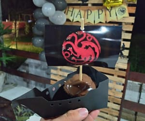birthday, chocolate, and decoration image