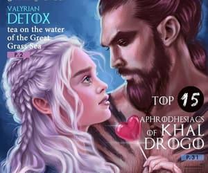 game of thrones, love the, and daenerys targaryen image