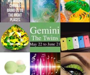aesthetic, gemini, and june image
