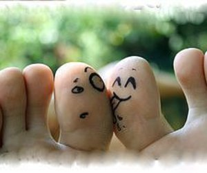 feet, tongue, and fingers image