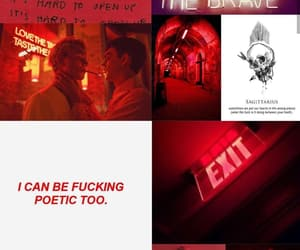 aesthetic, red, and december image