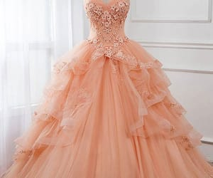 ball gowns, prom dress 2019, and lace prom dress image