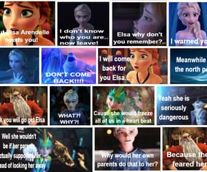 anna, jack frost, and frozen image