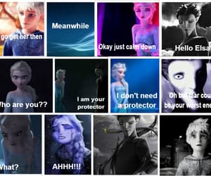 anna, jelsa, and frozen image