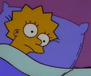 simpsons, cartoon, and lisa image