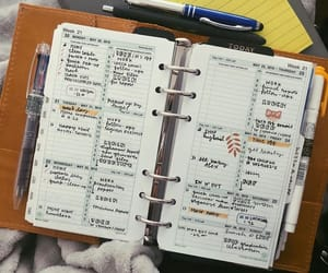planner, bujo, and bullet journal image