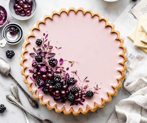 blackberry, dessert, and food image