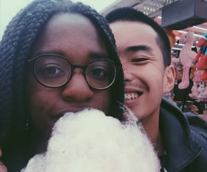 mixed, blasian couple, and love is love image