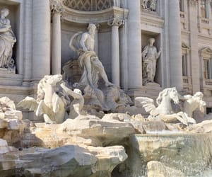 fountain, gods, and greek image