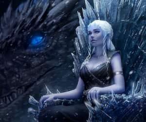 fanart, game of thrones, and daenerys targaryen image