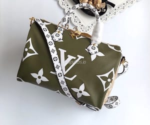 green and Louis Vuitton image