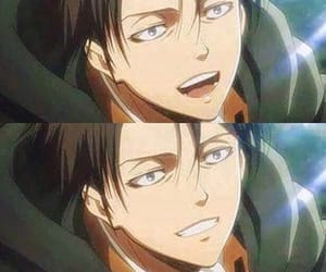 levi, smile, and cute image