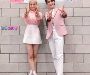 yeeun, clc, and jeno image