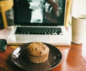 coffee, vintage, and cake image
