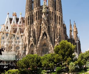 Barcelona, spain, and Sagrada Familia image