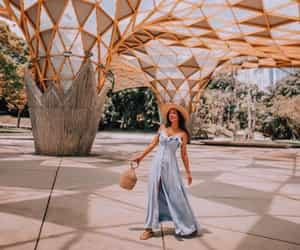 blue dress, dress, and fashion image
