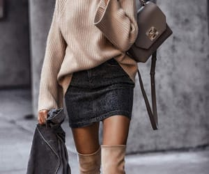 chic, girl, and fashion image