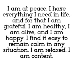 affirmation, empowering, and grateful image