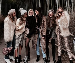 fashion, model, and friends image