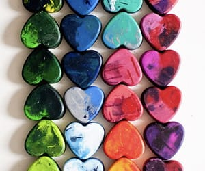 heart, colorful, and colors image