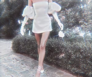 aesthetic, bride, and dress image