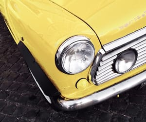 automobile, car, and yellow image