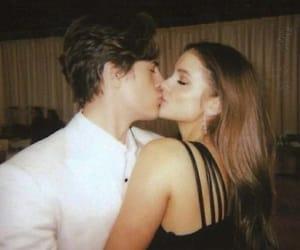 couple, kiss, and barbara palvin image