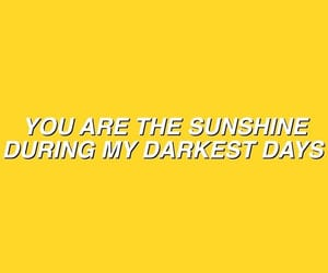 aesthetic, yellow, and quotes image