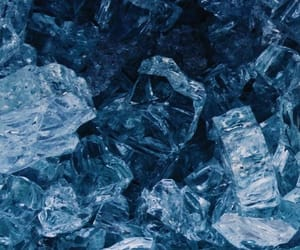 blue, wallpaper, and ice image