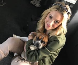 riverdale, dog, and lili reinhart image
