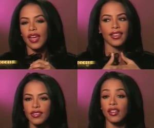 aaliyah, beauty, and blackgirlmagic image