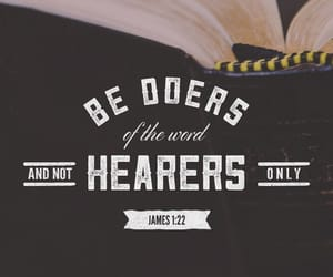 bible, james, and quote image