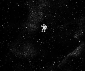 space, black, and stars image