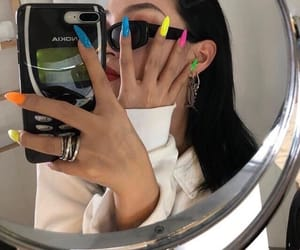 nails, girl, and aesthetic image