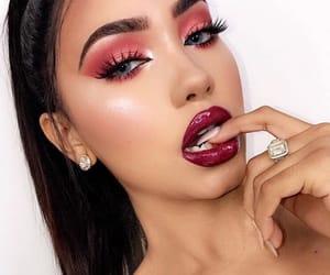 beautiful, diamonds, and makeup artist image
