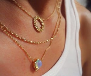 style, gold, and jewelry image
