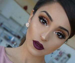 blush, highlight, and lipstick image