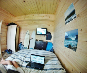room, surf, and waves image