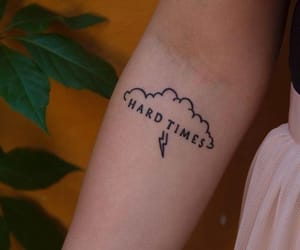 paramore, tattoo, and hard times image