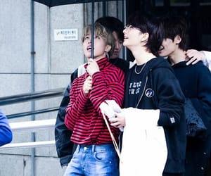 hwang hyunjin, stray kids, and han jisung image